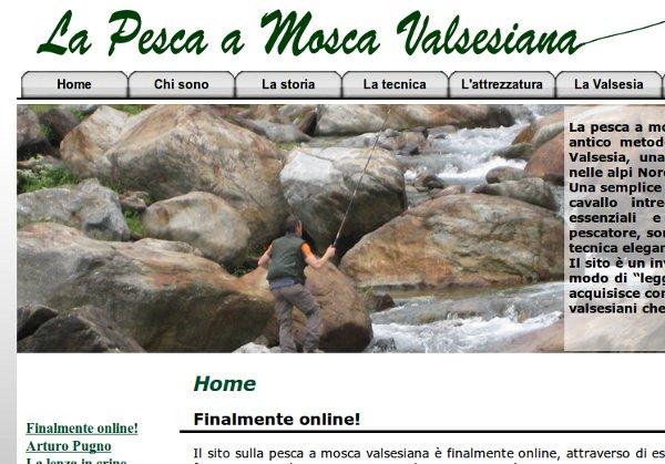 La pesca a mosca valsesiana